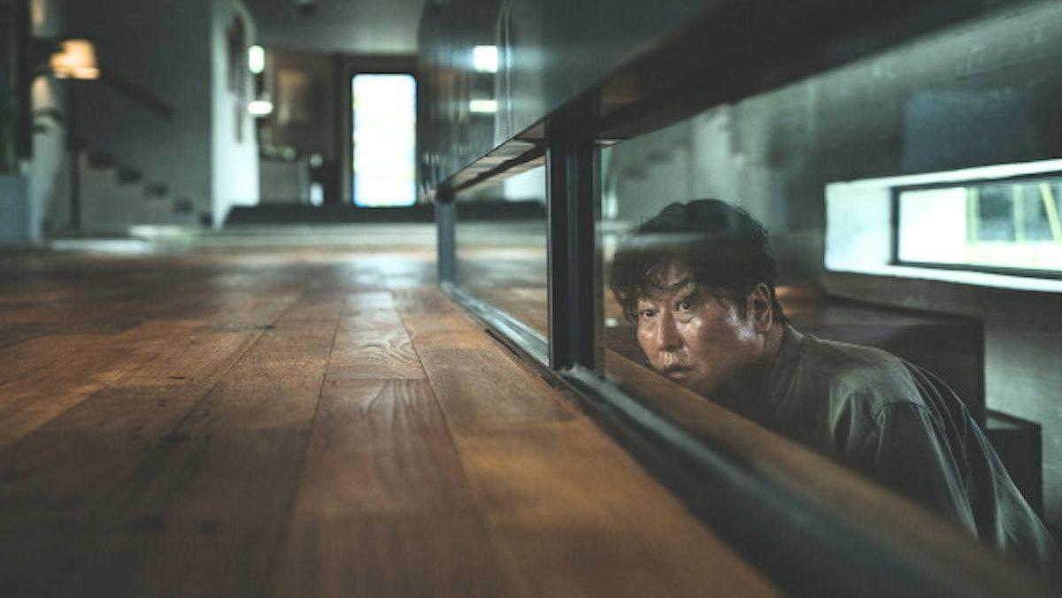 The ending of 'Parasite' had Kim Ki-taek trapped in the basement.