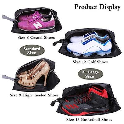YAMIU Travel Shoe Bags (Set of 4)