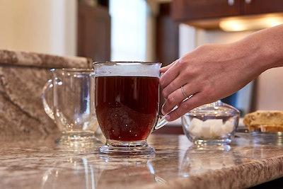 Anchor Hocking Café Glass Coffee Mugs (Set Of 6)