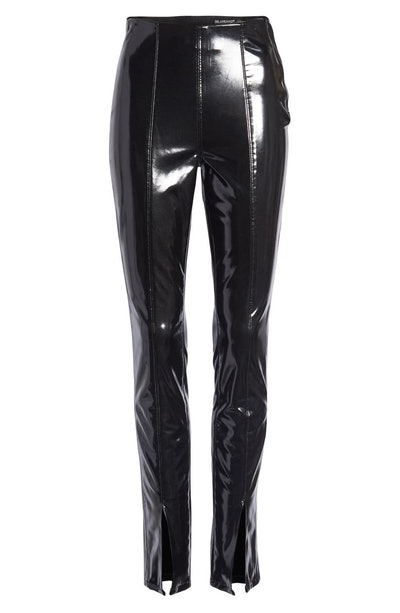 Patent Faux Leather Leggings