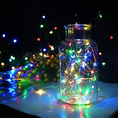 LEDIKON Colorful Fairy Lights (12-Pack)