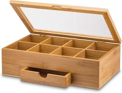Bambüsi Bamboo Tea Storage Box