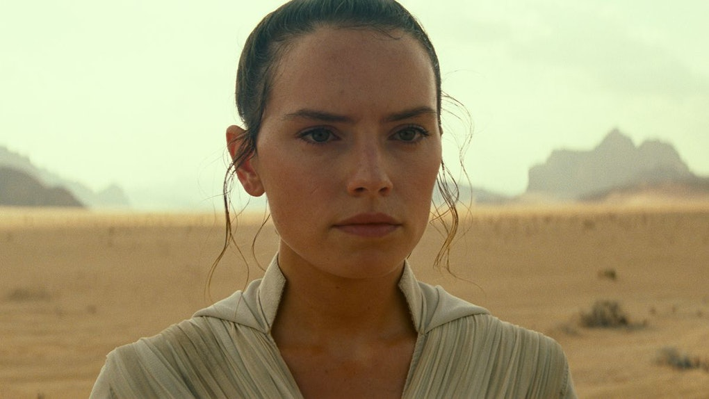 Rey in The Rise of Skywalker