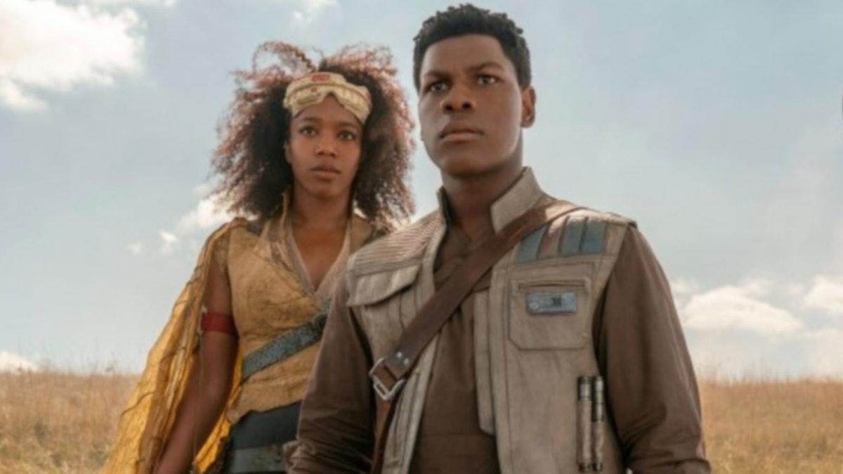 Jannah and Finn in Rise of Skywalker