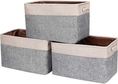 HOKEMP Foldable Storage Bins (Set Of 3)