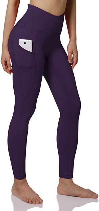 ODODOS High-Waisted Yoga Pants With Pockets