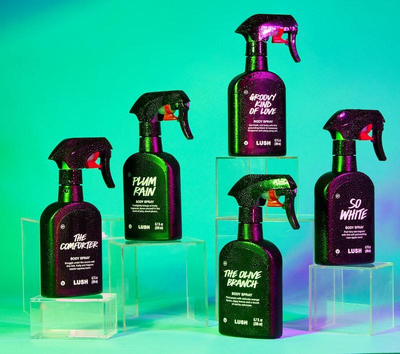 Lush's 20 new Body Spray fragrances launch Dec. 26.