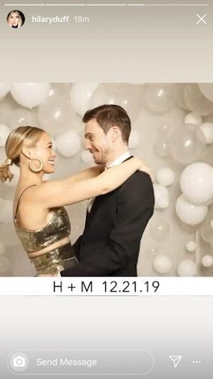 Hilary Duff and Matthew Koma wedding photos