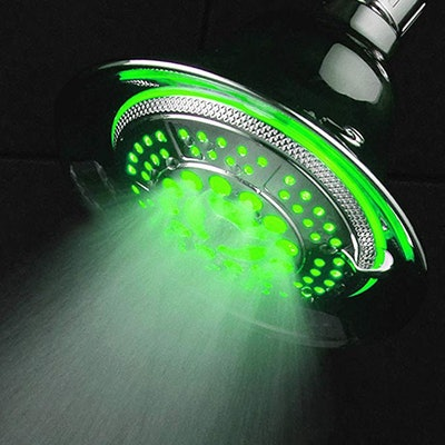 DreamSpa Temperature Controlled Color Changing Shower-Head