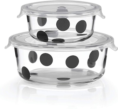 Kate Spade New York Deco Dot Round Dishes (4-Piece Set)