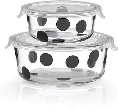 Kate Spade New York Deco Dot Round Dishes (4-Piece Set)