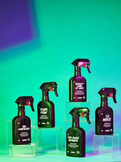 Lush's body sprays come in 20 new fragrances.