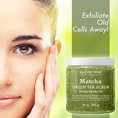 Majestic Pure Matcha Green Tea Body Scrub