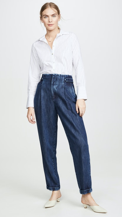 Bay Dark Denim Pants
