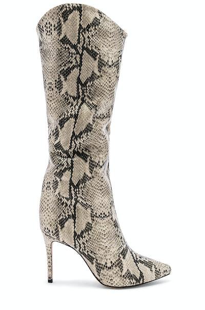 Snakeskin Maryana Boots