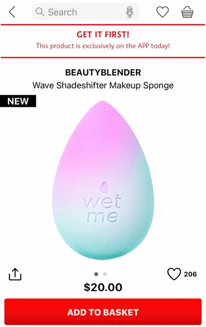 The new BeautyBlender Wave is available now on the Sephora app.
