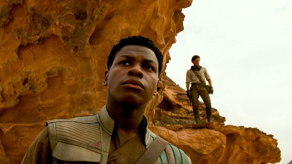 Finn and Poe in Rise of Skywalker