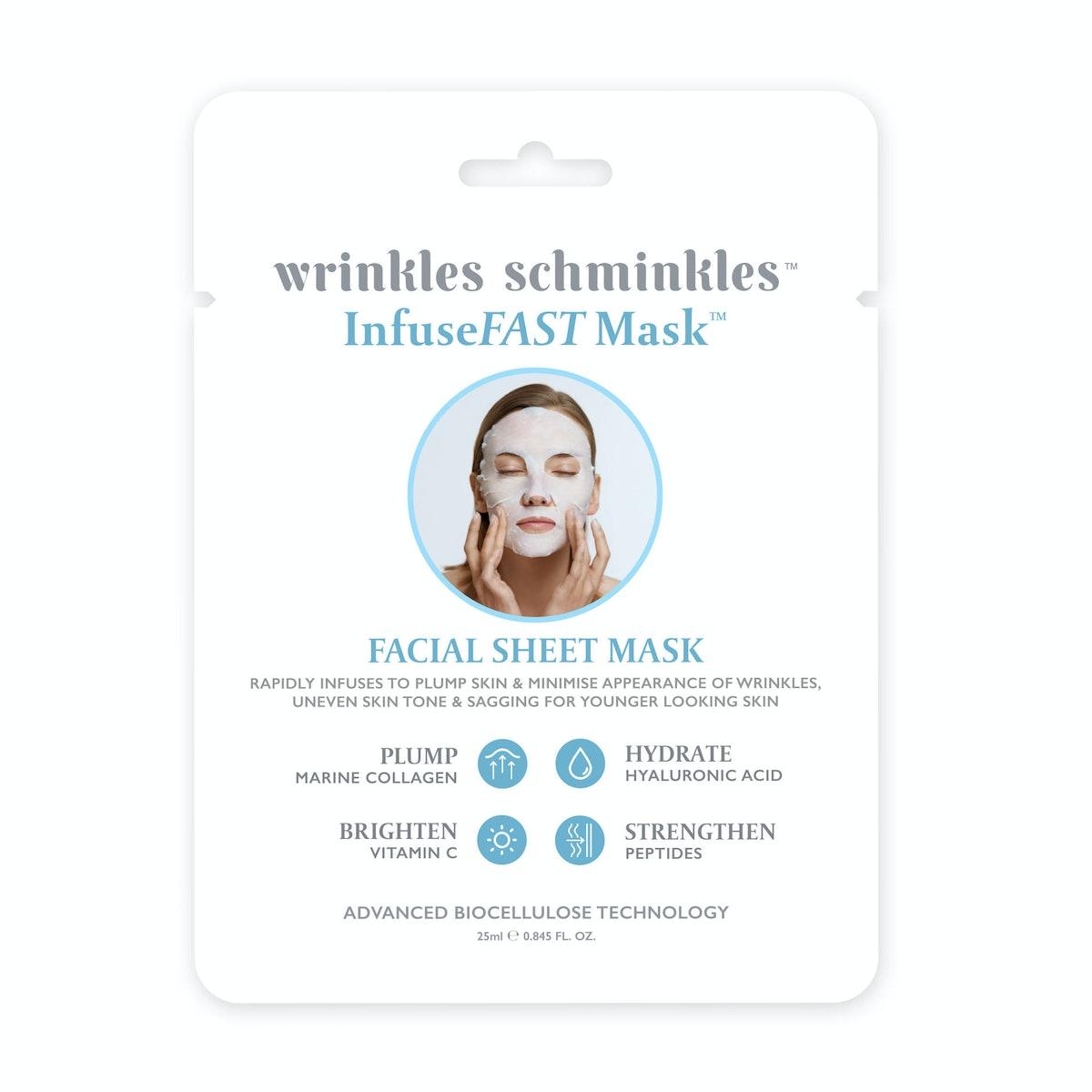 InfuseFAST Facial Sheet Mask