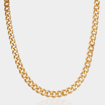 Mia Thick Curb Chain Necklace