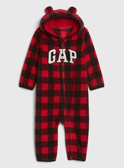 Baby Gap Logo Print One-Piece