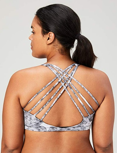 Core 10 Strappy Back Yoga Sports Bra