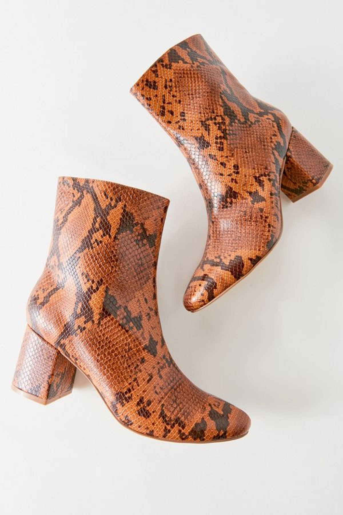 UO Alana Snakeskin Boot