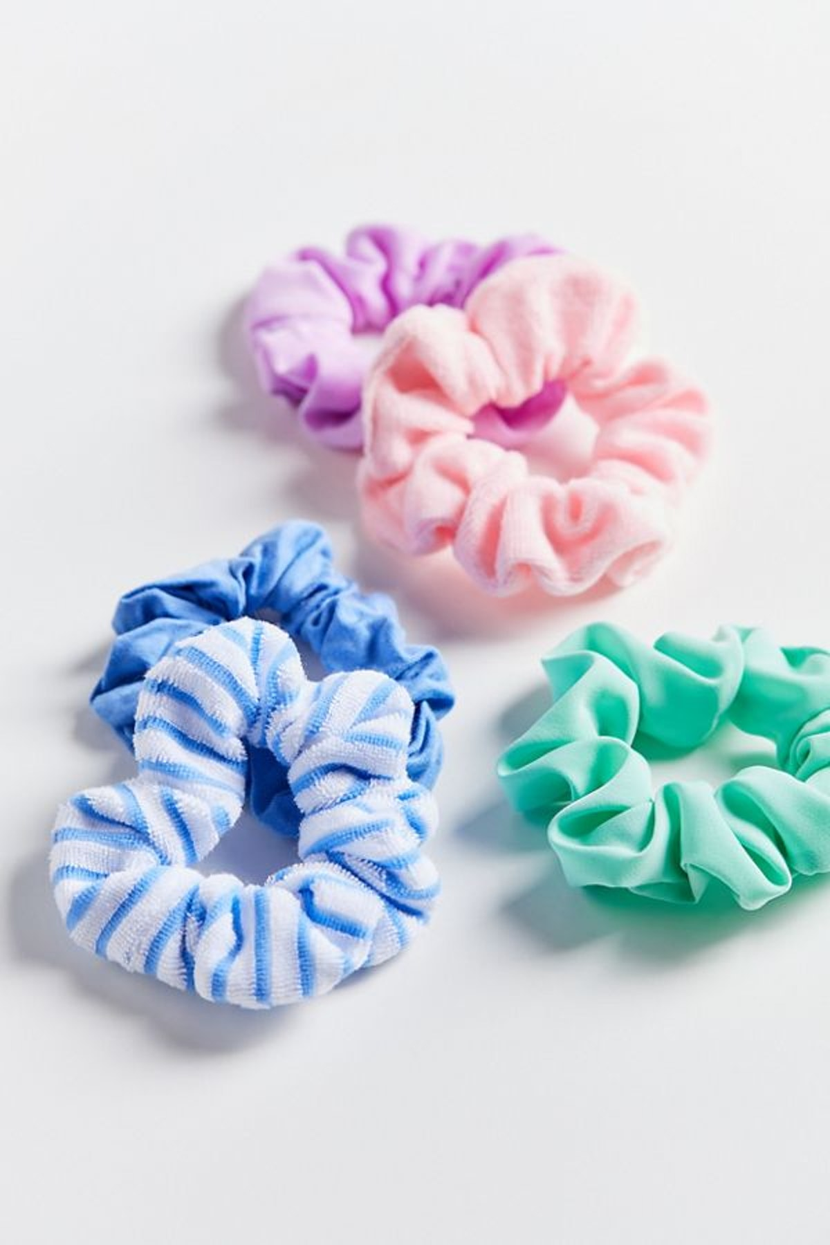 Days Of The Week Assorted Scrunchie Set