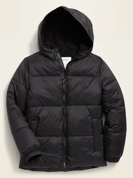 Frost Free Hooded Puffer Jacket