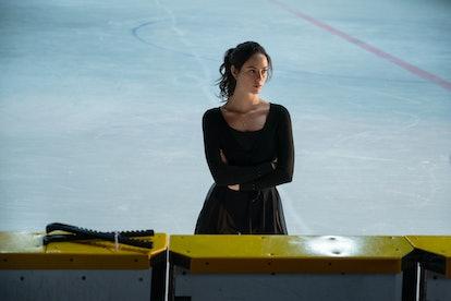 Kaya Scodelario as Kat Baker in Netflix's Spinning Out