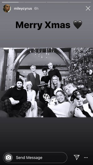 Miley Cyrus, Cody Simpson, Christmas