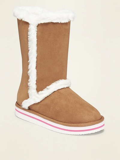 Tall Faux Suede Adoraboots