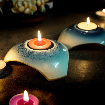 Exquizite Variety Collection Highly Scented Tealight Candles Set (90 Candles, 6 Scents)
