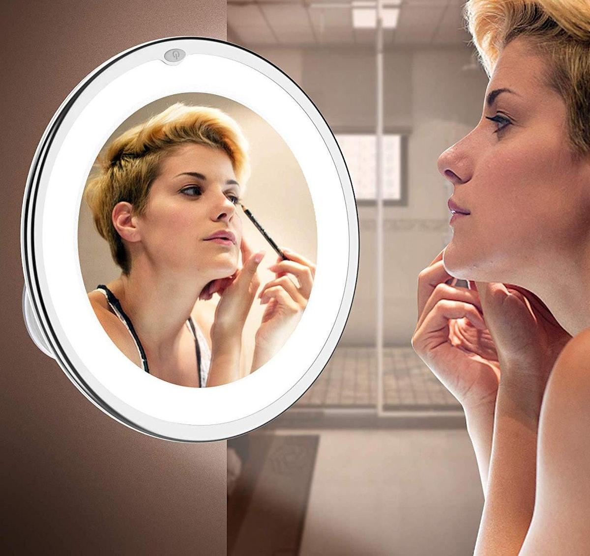 Vimdiff Lighted Mirror