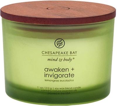 Chesapeake Bay Candle (Lemongrass Eucalyptus Scent)