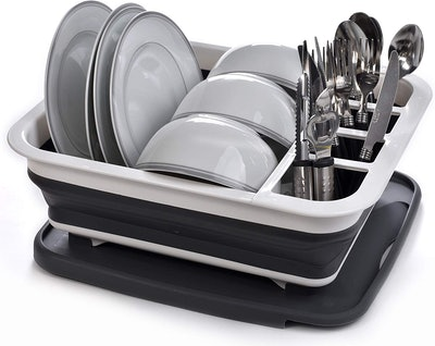 Masirs Collapsible Dish Drying Rack