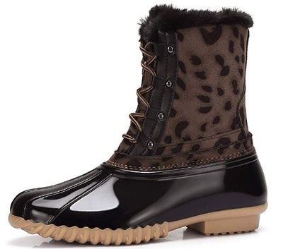 CAMEL CROWN Women's Winter Duck Boots