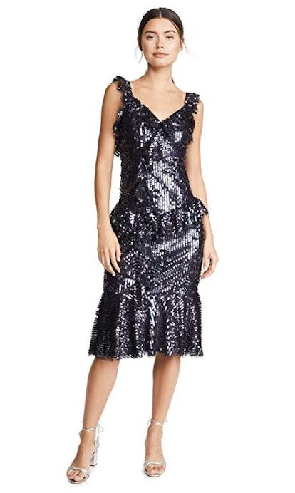 Scarlett Sequin Midi Dress