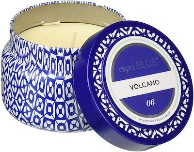 Capri Blue Printed Travel Tin Candle (Volcano Scent)