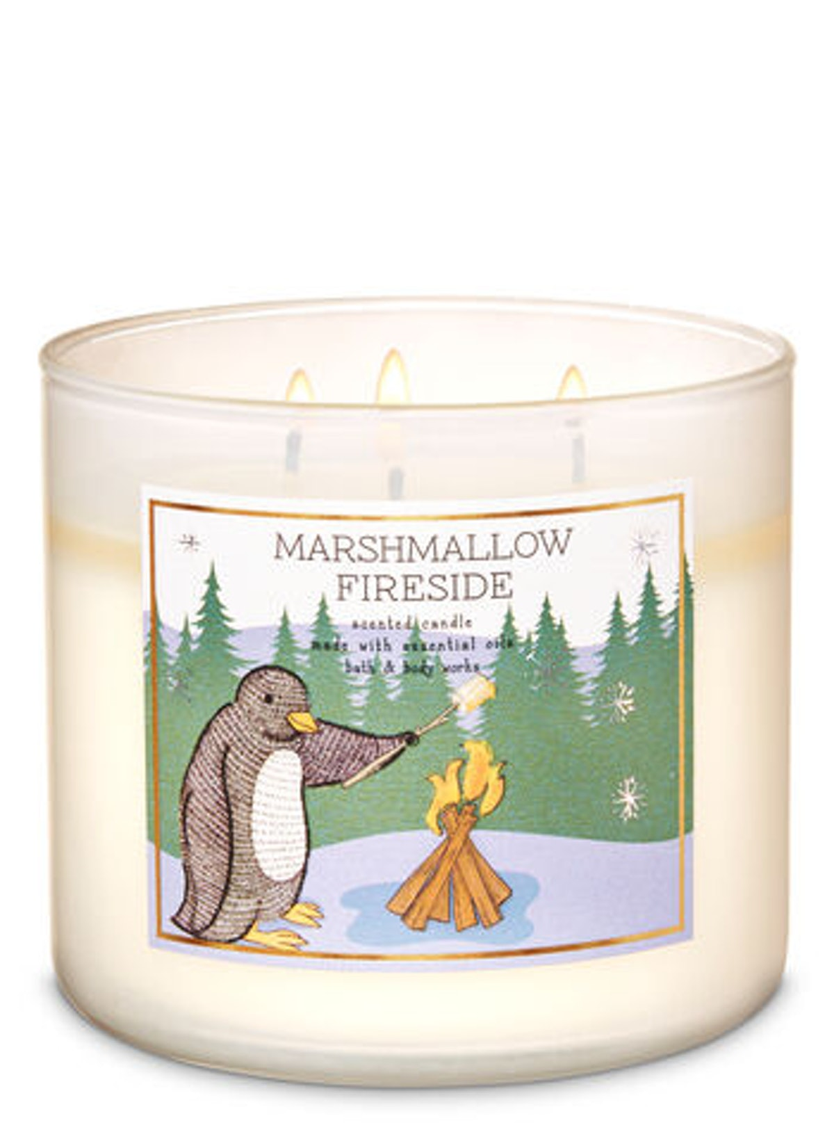 Marshmallow Fireside 3-Wick Candle