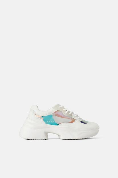 Iridescent Sneakers