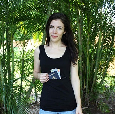 Clever Travel Companion Unisex Tank