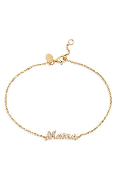 Argento Vivo Mama Bracelet in Gold