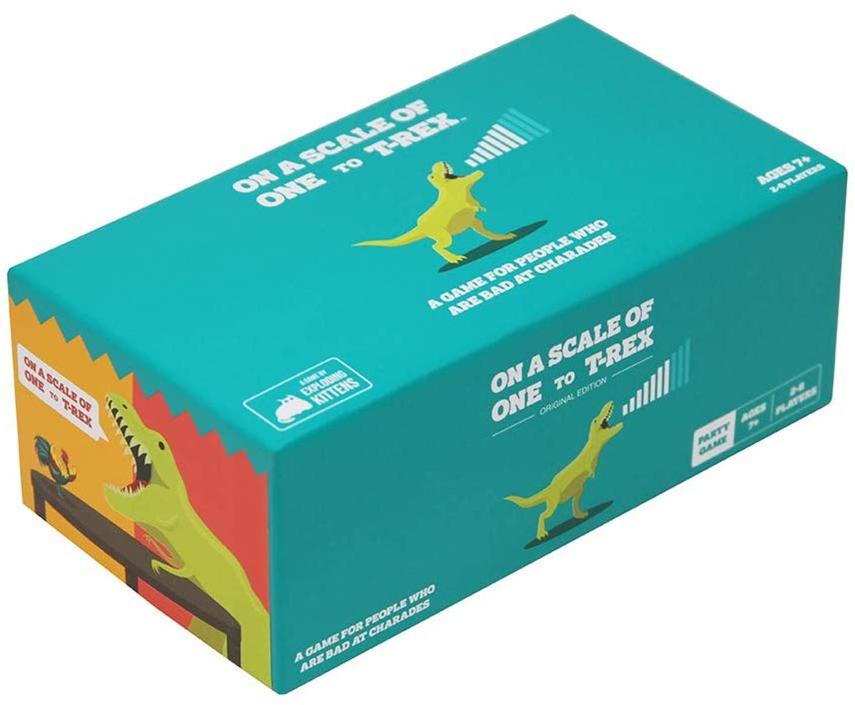 Exploding Kittens LLC Scale Of One To T-Rex