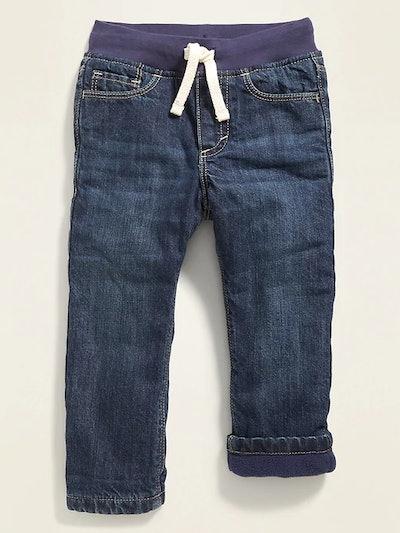 Fleece-Lined Jeans