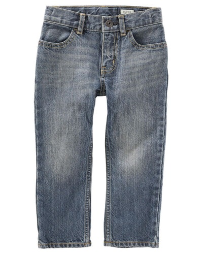 Classic Jeans—Rail Tie True Blue Wash