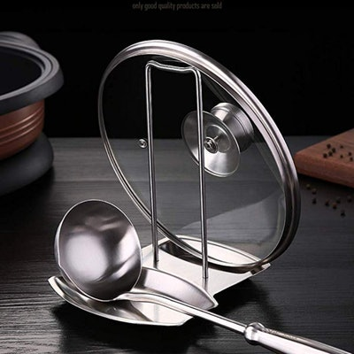 iPstyle Pan Lid Holder And Spoon Rest