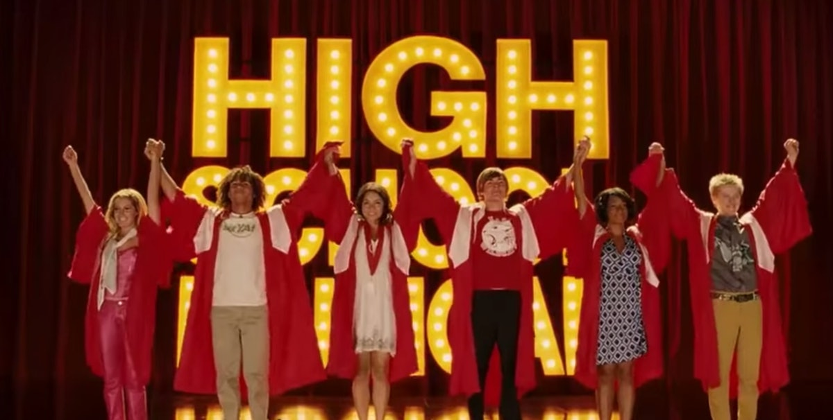 A former wildcat joined the 'High School Musical' series for an episode