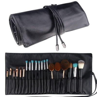 Relavel Makeup Brush Rolling Case Pouch
