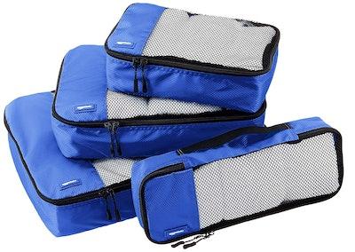 AmazonBasics Travel Organizer Cubes (4-Piece Set)