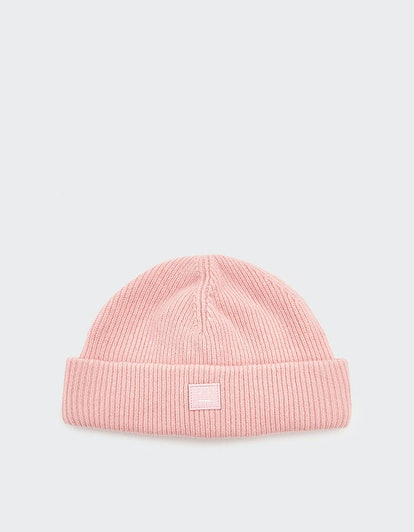 Kansy Knit Beanie in Blush Pink